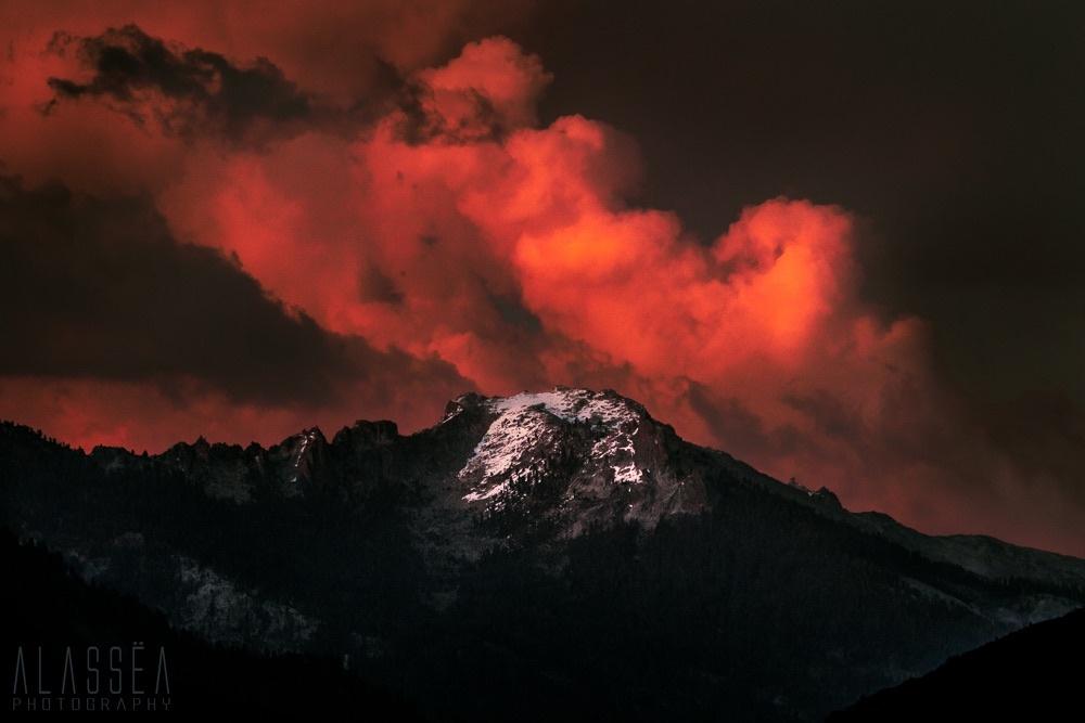 Dark Sunset by Anthony and Jessica Perez