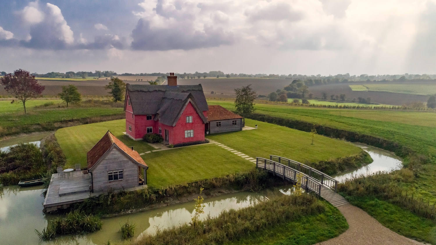 Moat Cottage - Drone by Alexander Parnell