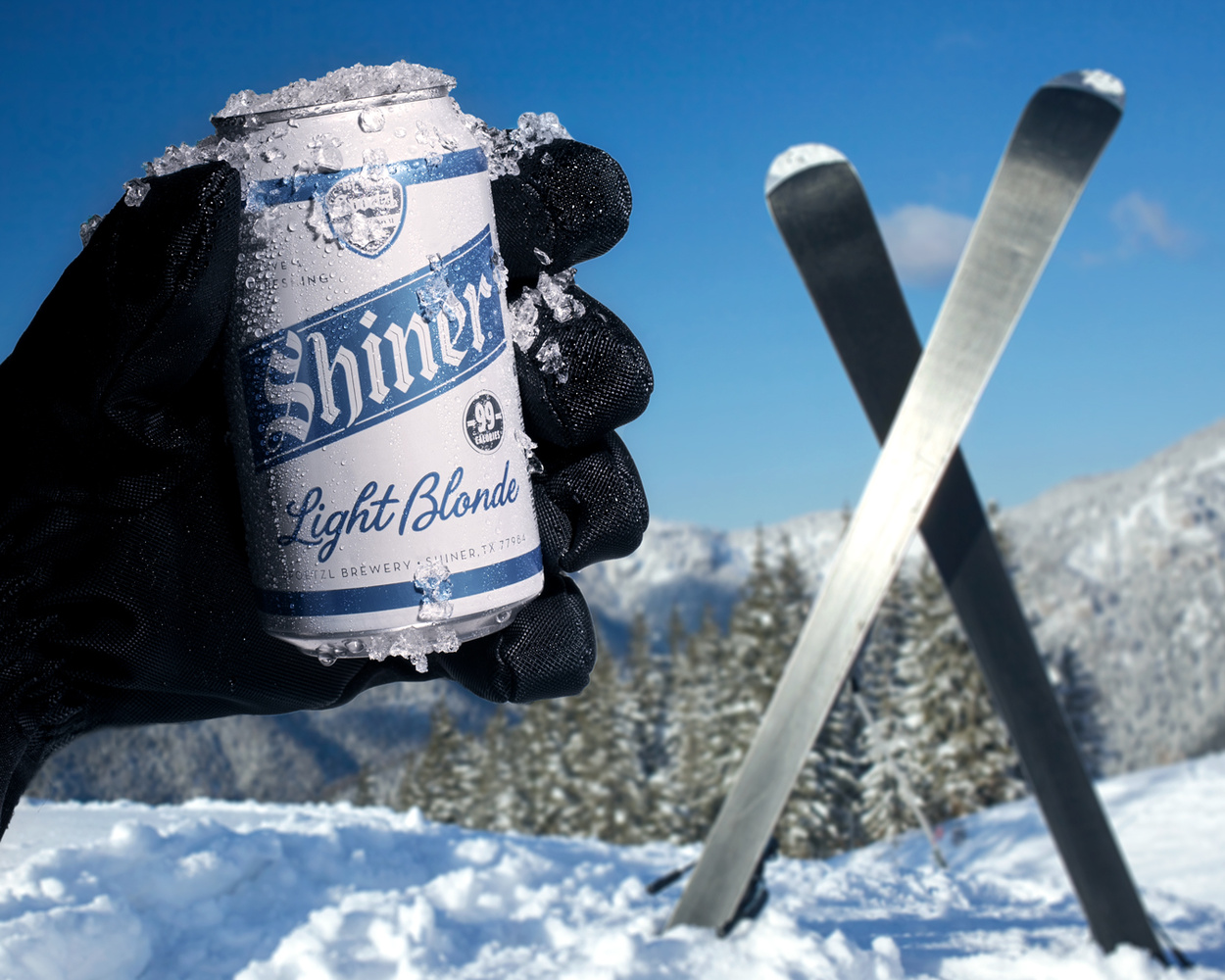 Shiner on the Slopes by John Dawson