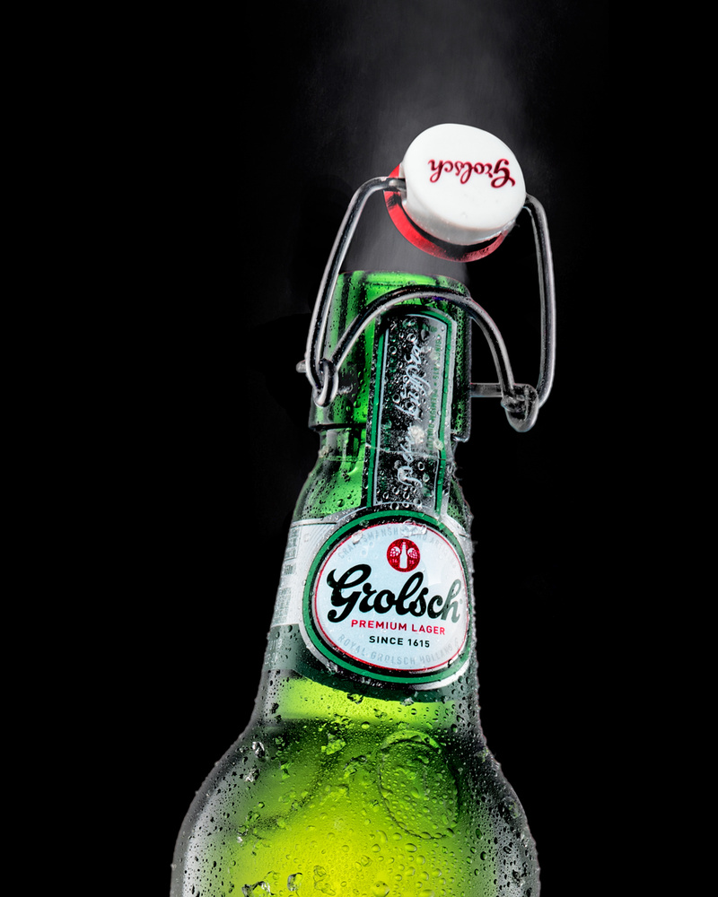 Grolsch Lager In Action by John Dawson