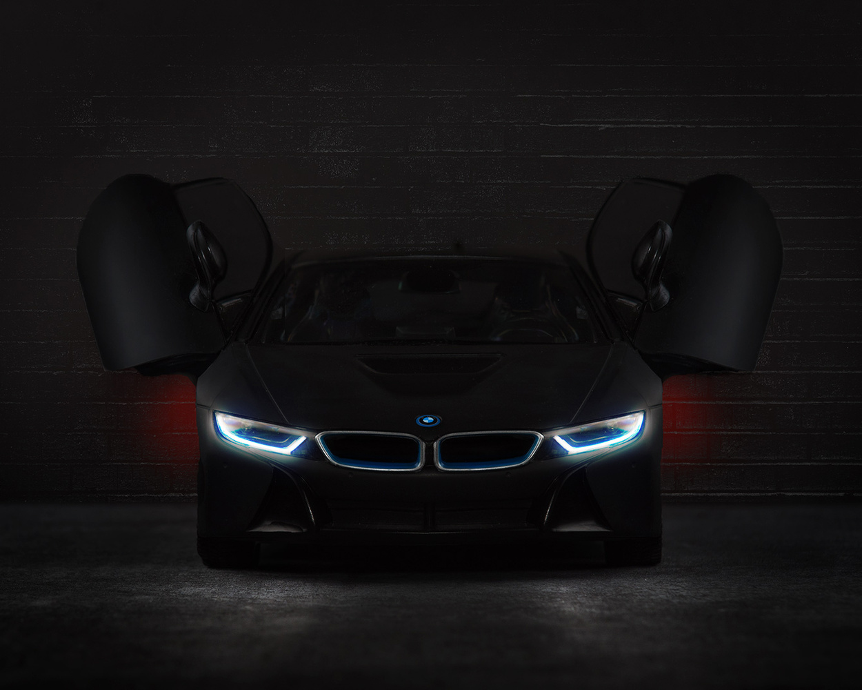 BMW i8 After Dark by John Dawson