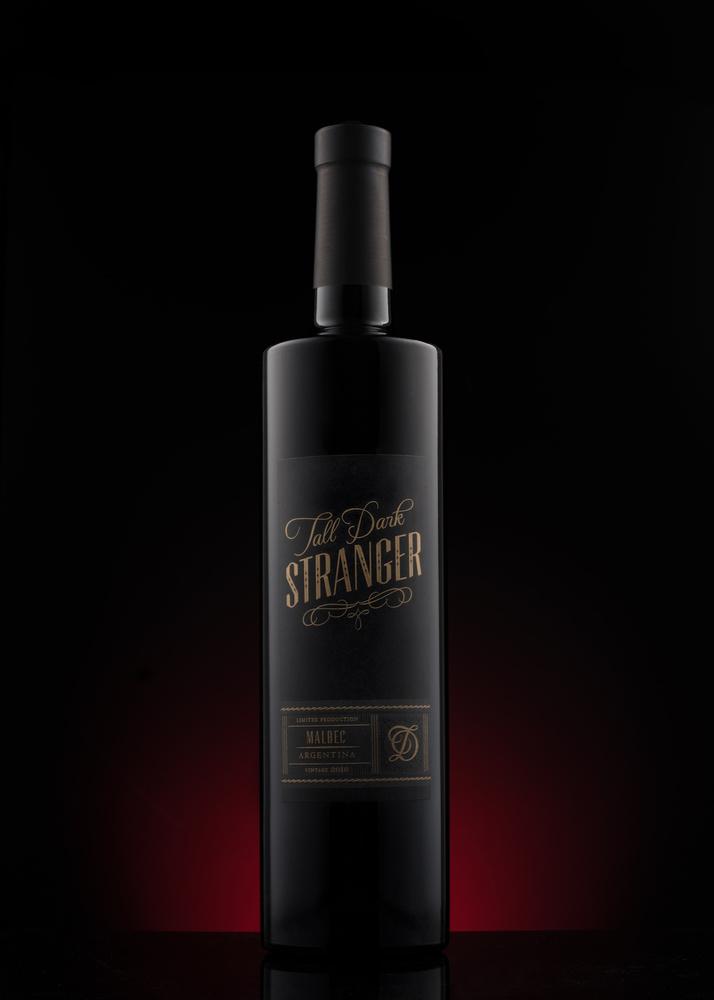 Tall Dark Stranger Malbec by John Dawson