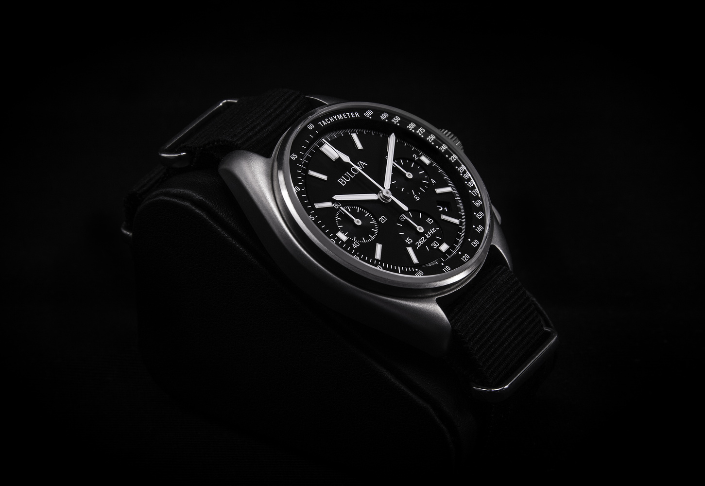 Bulova Moonwatch commercial shot by Luca Russo
