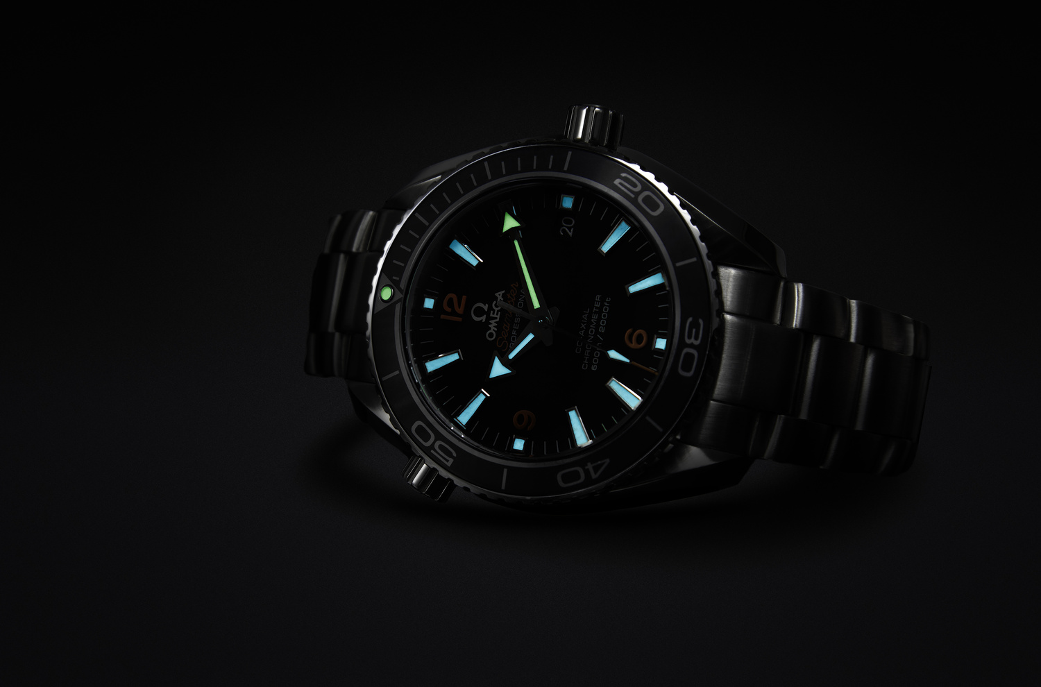 Omega commercial lume shot by Luca Russo