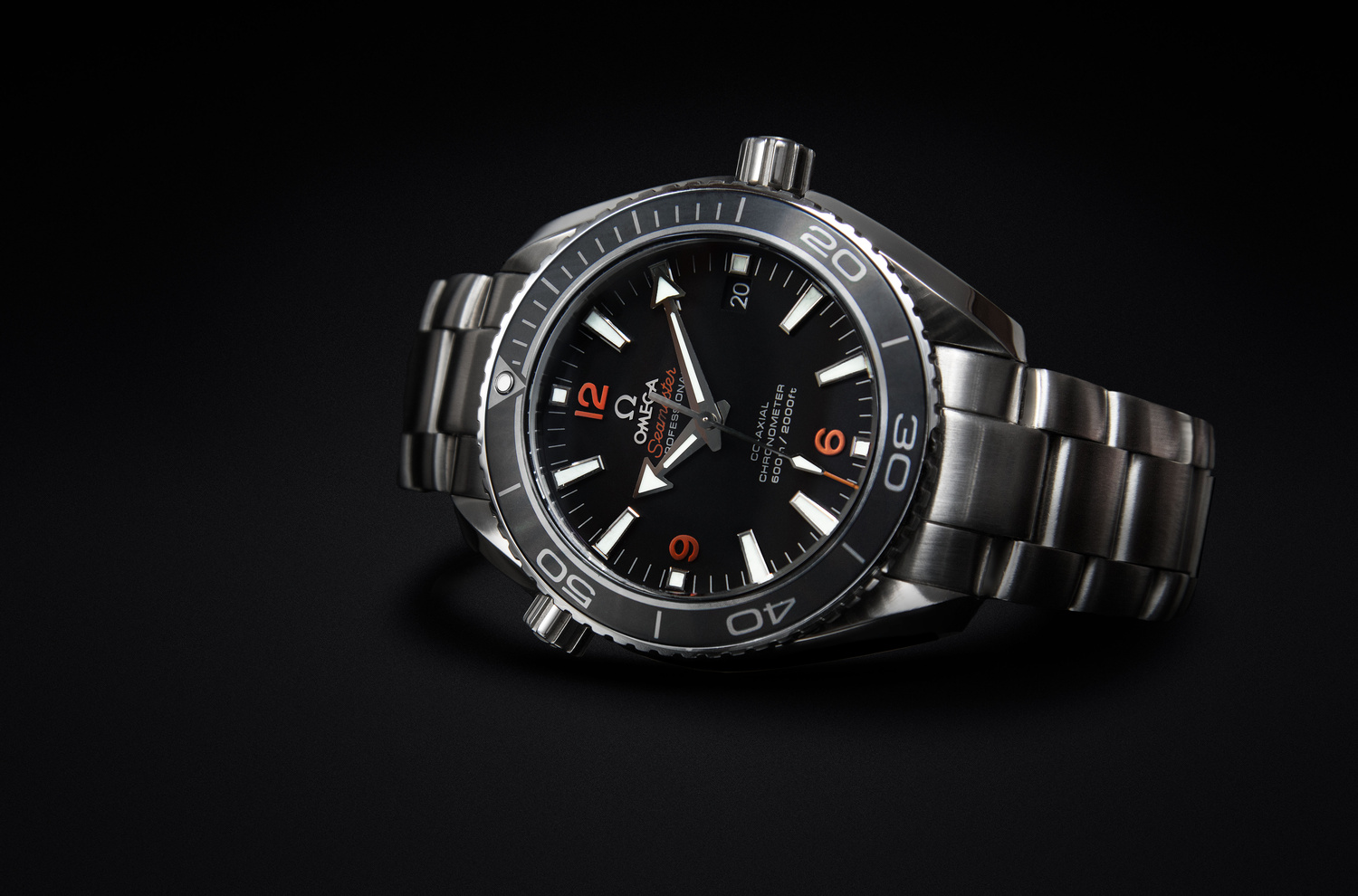 Omega commercial shot  by Luca Russo