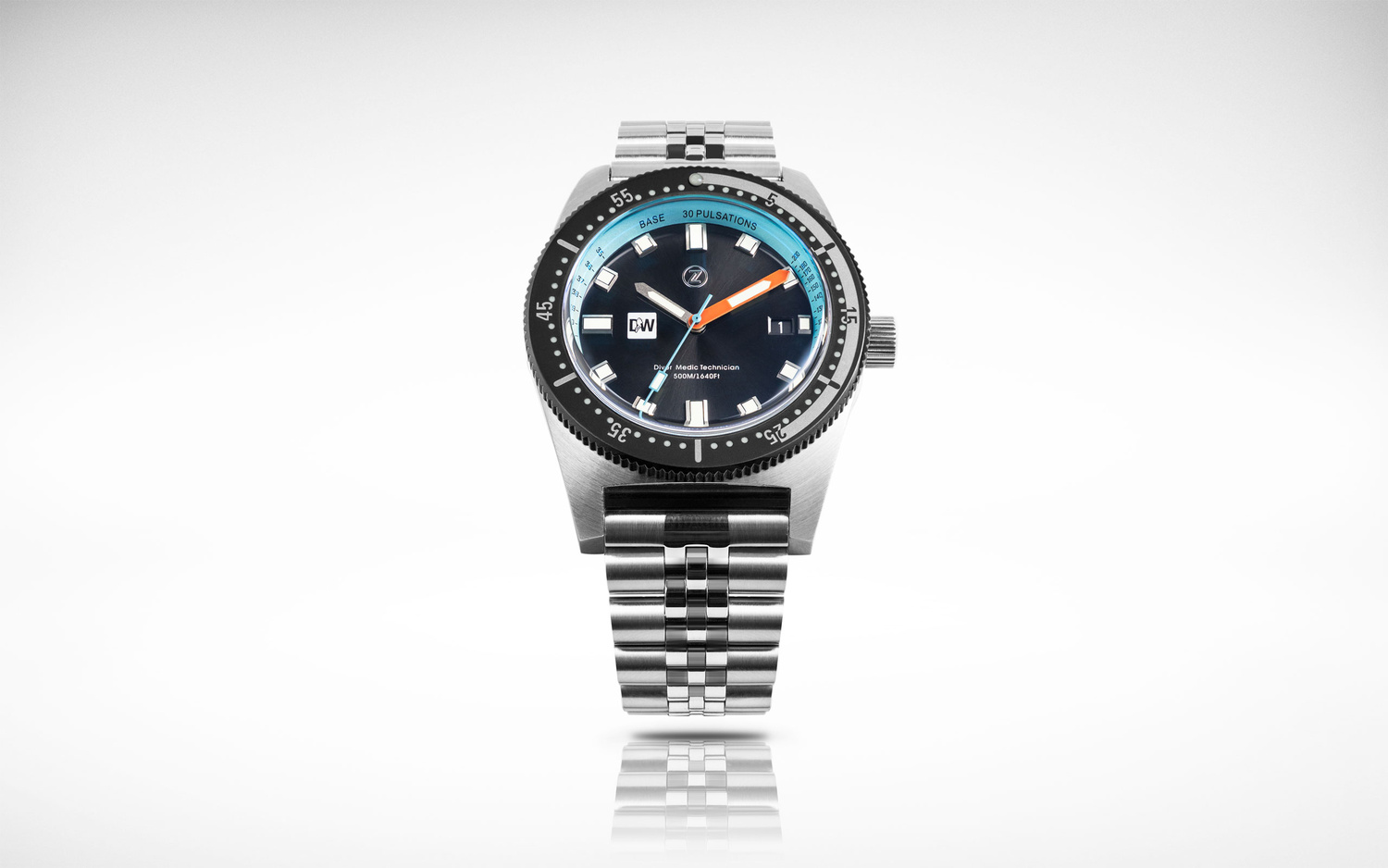 Zelos Diver Watch commercial shot by Luca Russo