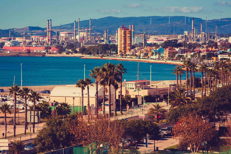 Algeciras from La Linea De La Concepcion, Spain by Ben Galvin