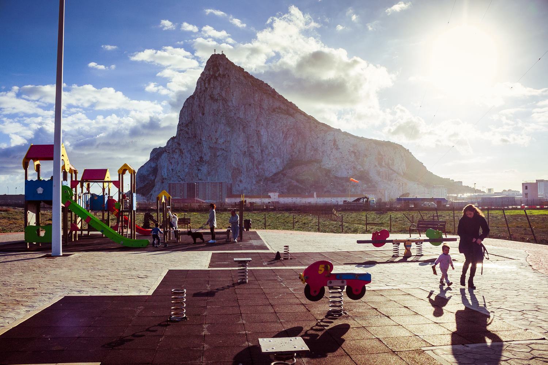 Rock Of Gibraltar by Ben Galvin