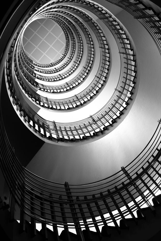 Spiral staircase by Jose Balta