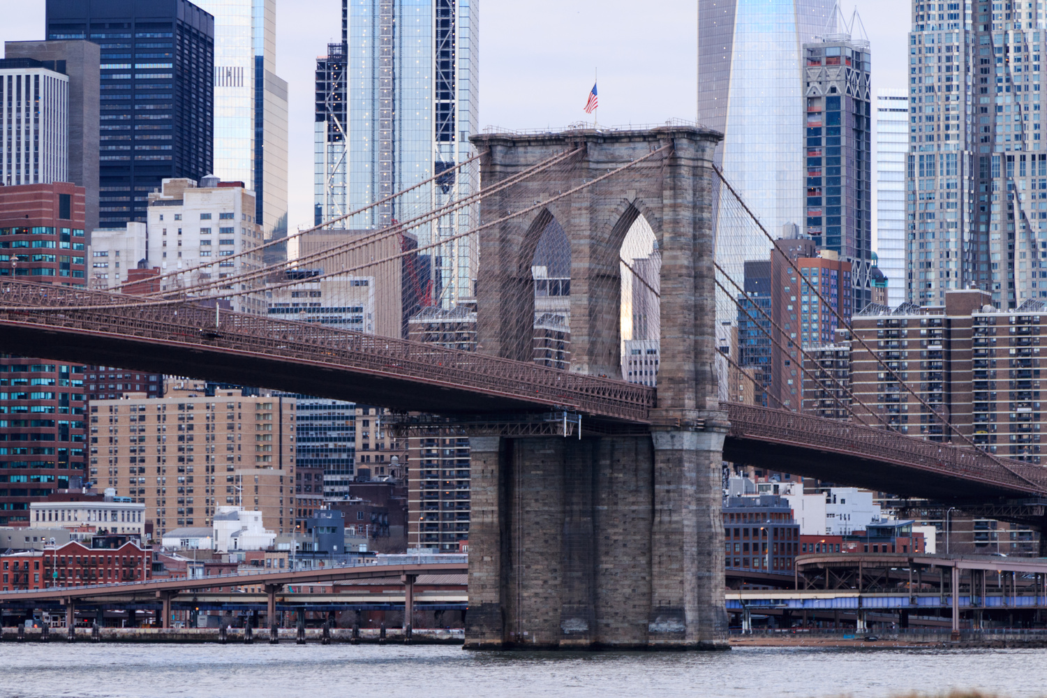 Brooklyn Bridge by Benjamin Prater