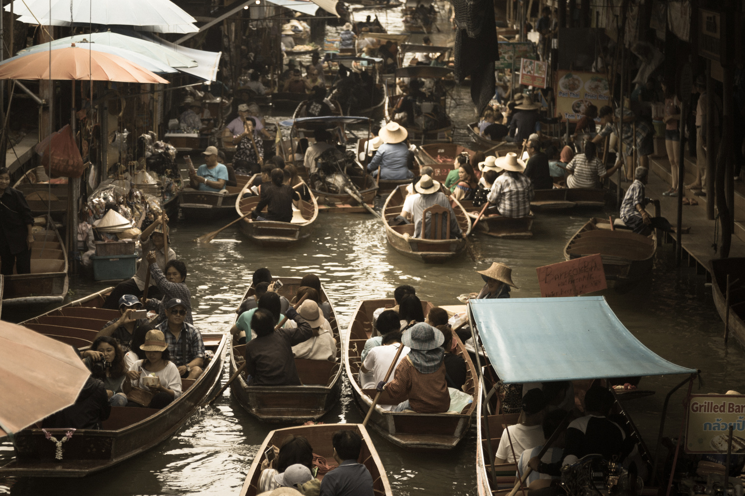Thailand Canals by Benjamin Prater