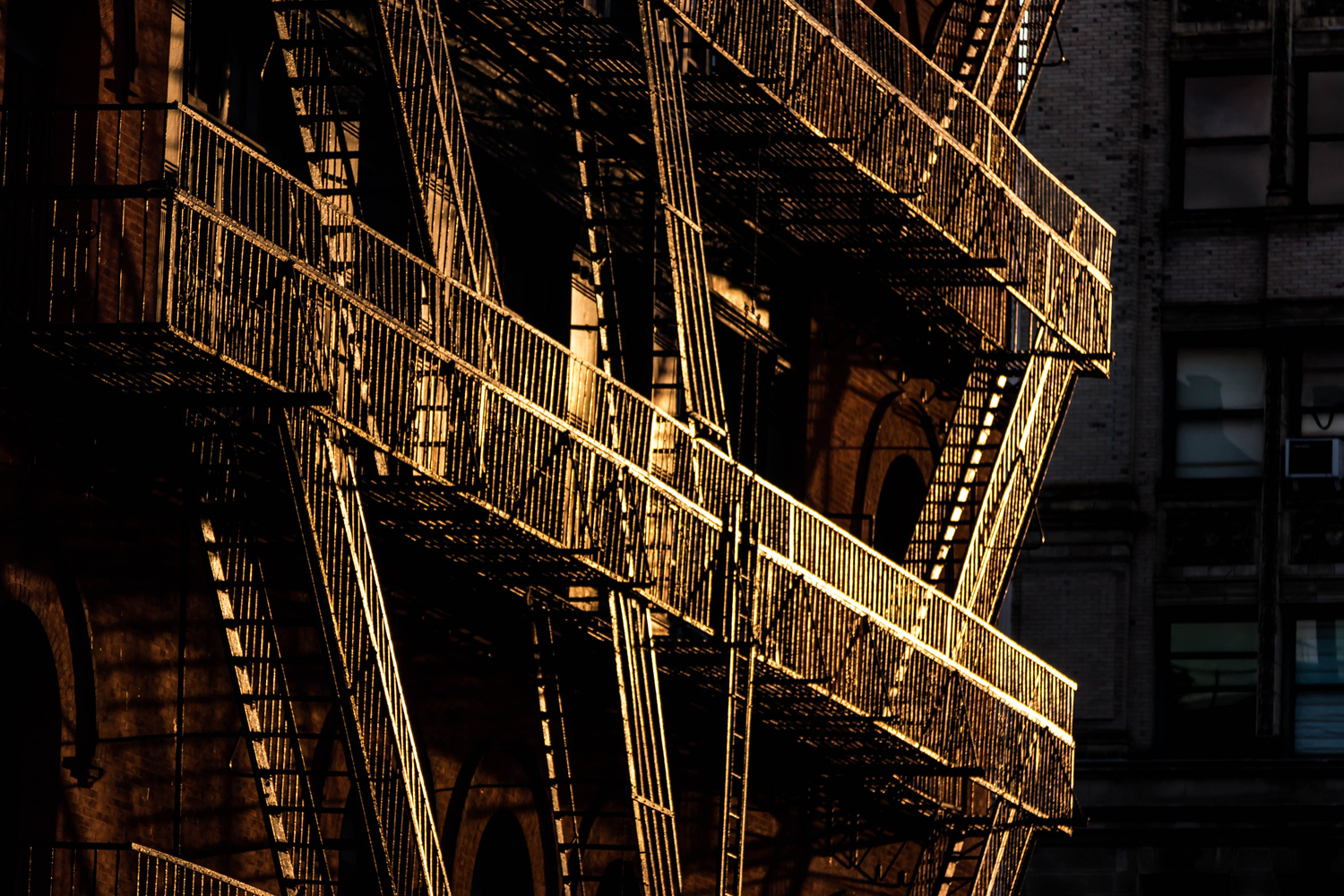 Fire Escape by Benjamin Prater