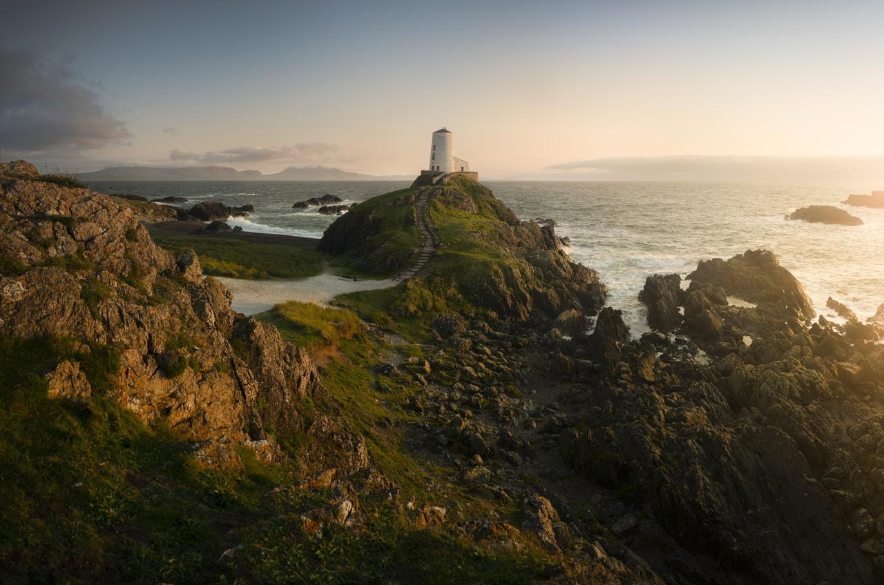 Ynys Llanddwyn Lighthouse by Ben Lockett