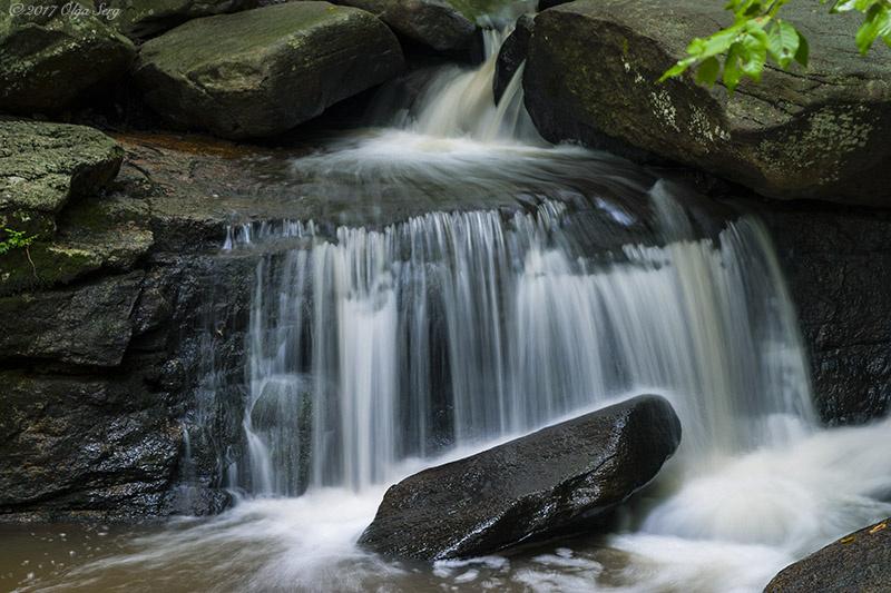 Hacklebarney State Park, NJ by Olga Sergyeyeva