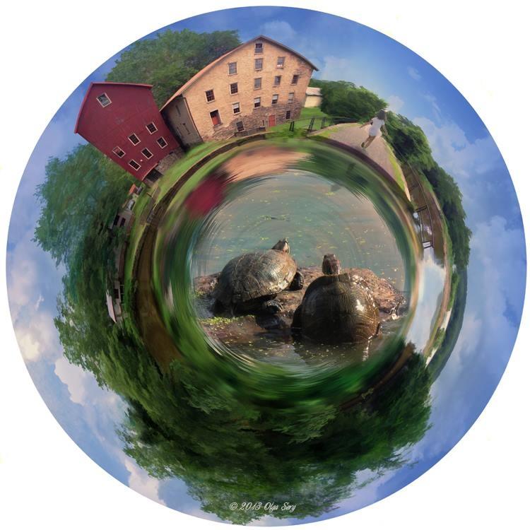 Prallsville Mills Planet, Stockton, NJ by Olga Sergyeyeva
