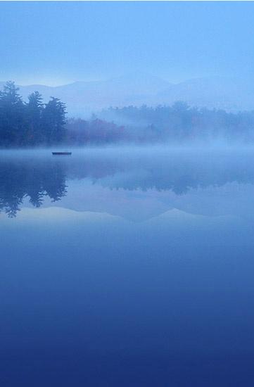 Chocorua Lake, Vermont by Olga Sergyeyeva