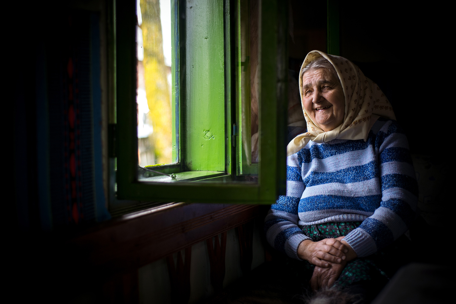 The old lady from Maramures by Alex Robciuc