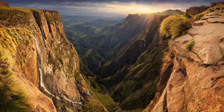 Tugela Falls by Lukas Bornheim