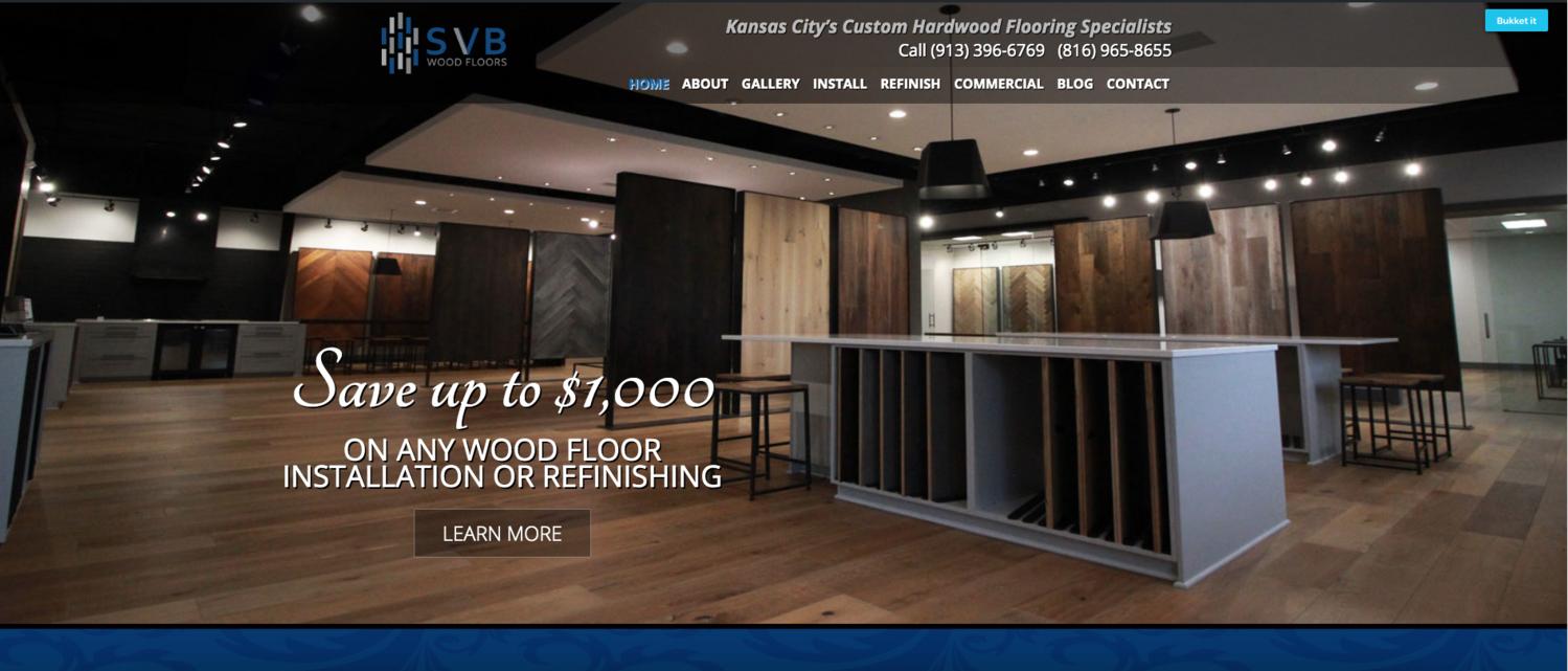 Flooring Company Showroom by Steve Brattin