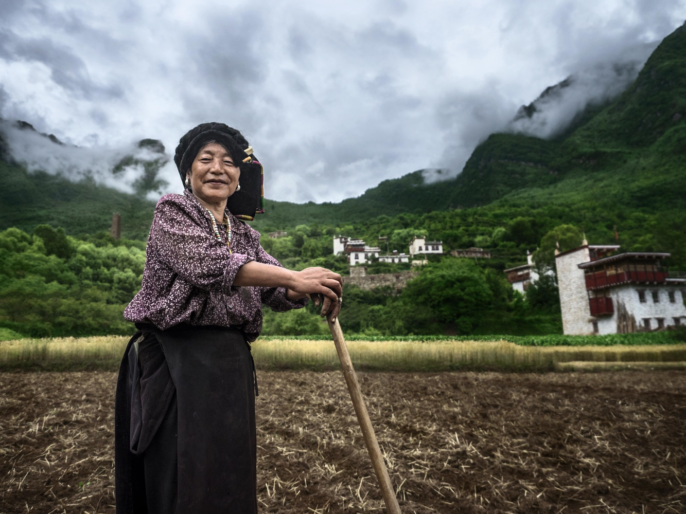 Organic Farming in Tibet by Ira Jacob