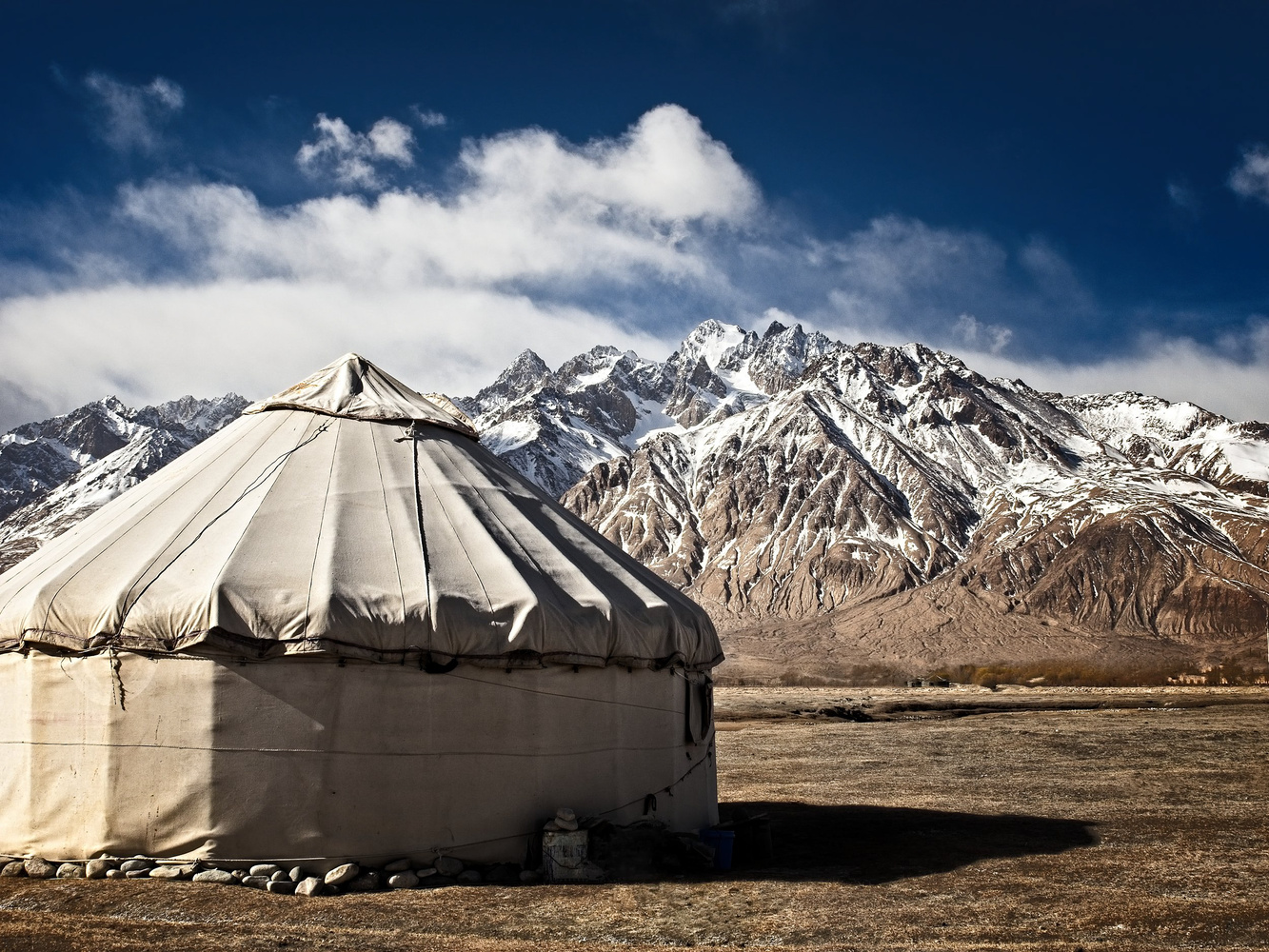 Mountain Yurt by Ira Jacob