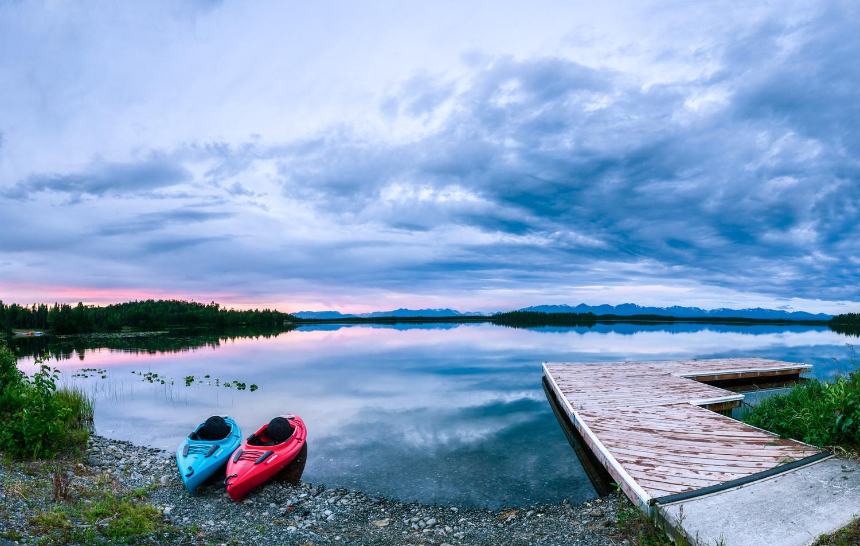 Brown Lake by Ira Jacob