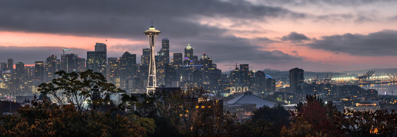 Emerald City Skyline by Ira Jacob
