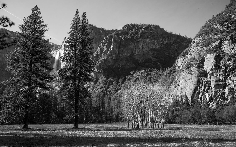 Yosemite Falls | B&W by Travis Bateman