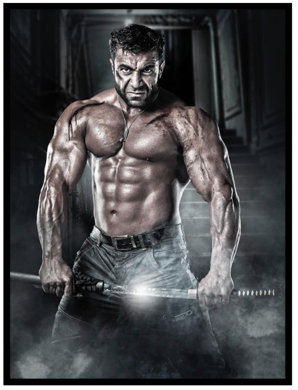 BIG Wolverine by Jon Klasbu
