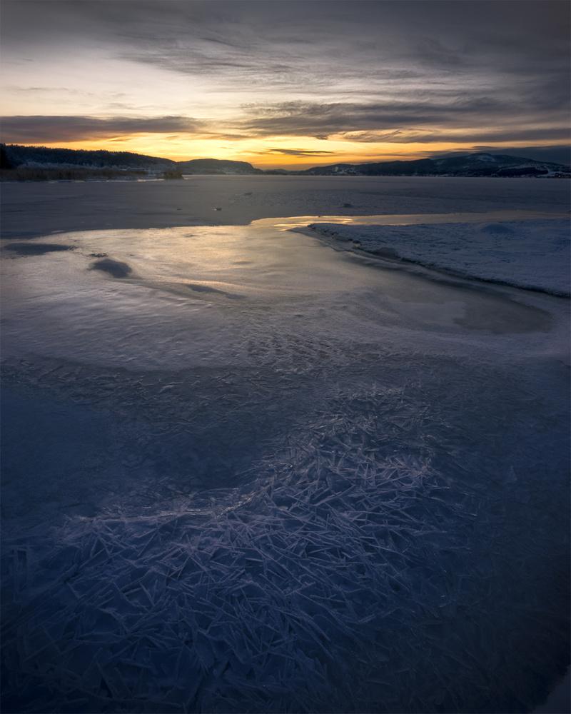 Ice morning by Terje Karlsen