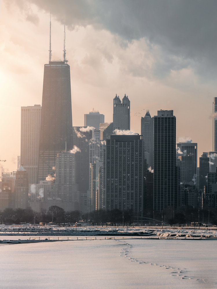 Morning light in Chicago  by Logan Armstrong