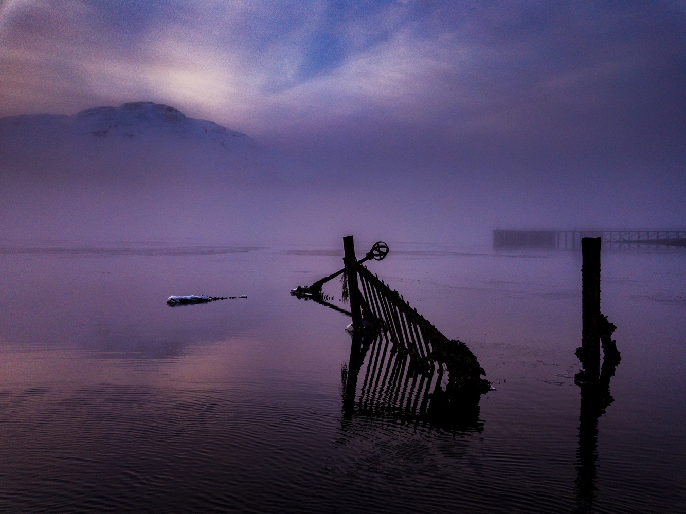 Into the mist by Martin Carrera