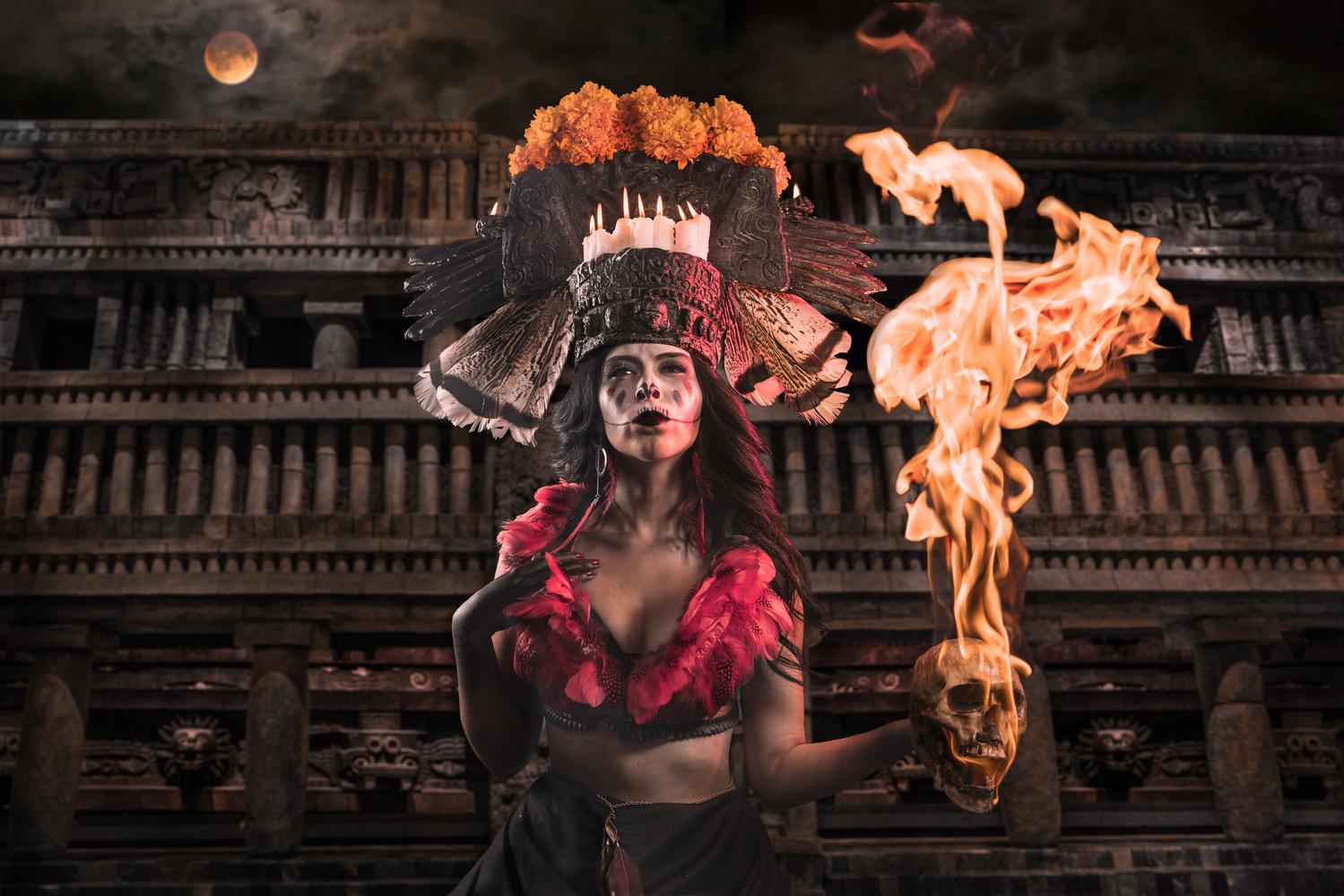 Mictecacíhuatl (Queen of the Underworld) by ERIK VICINO