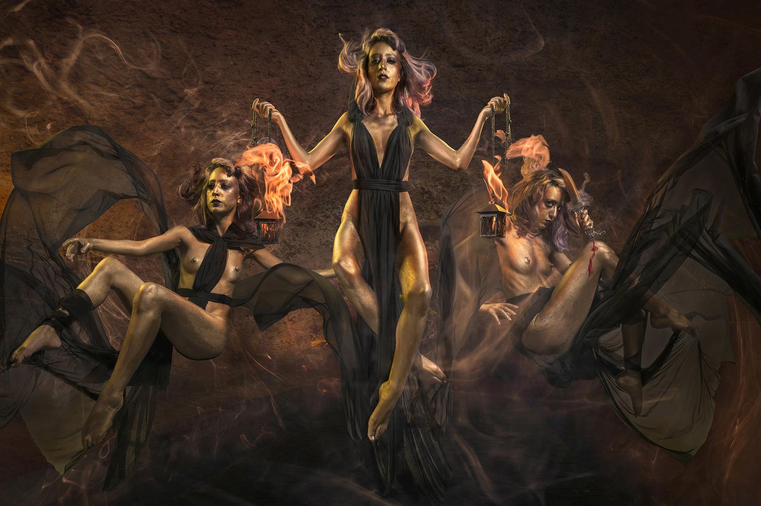 Golden Goddess Hecate by ERIK VICINO