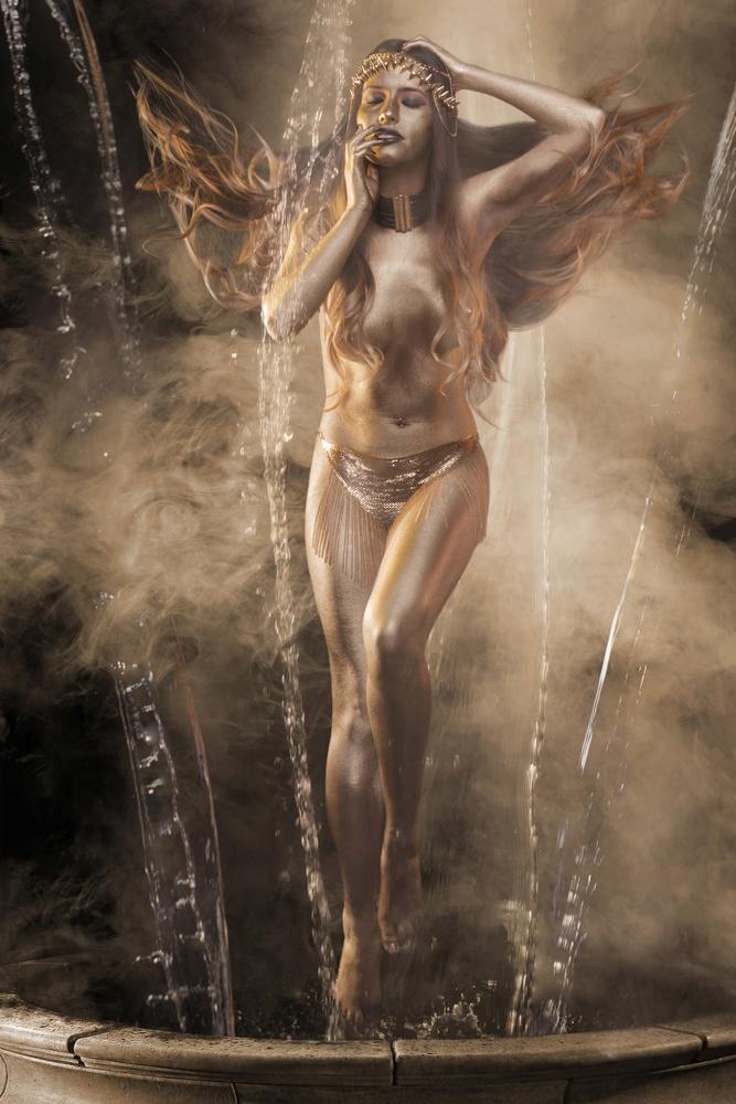 Golden Goddess Satet by ERIK VICINO