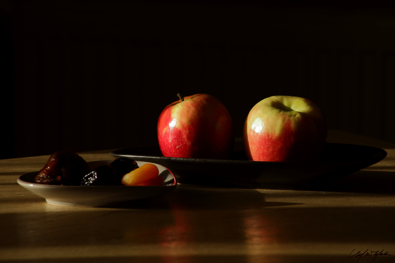 Apples with Dates by Matthew B. Marks