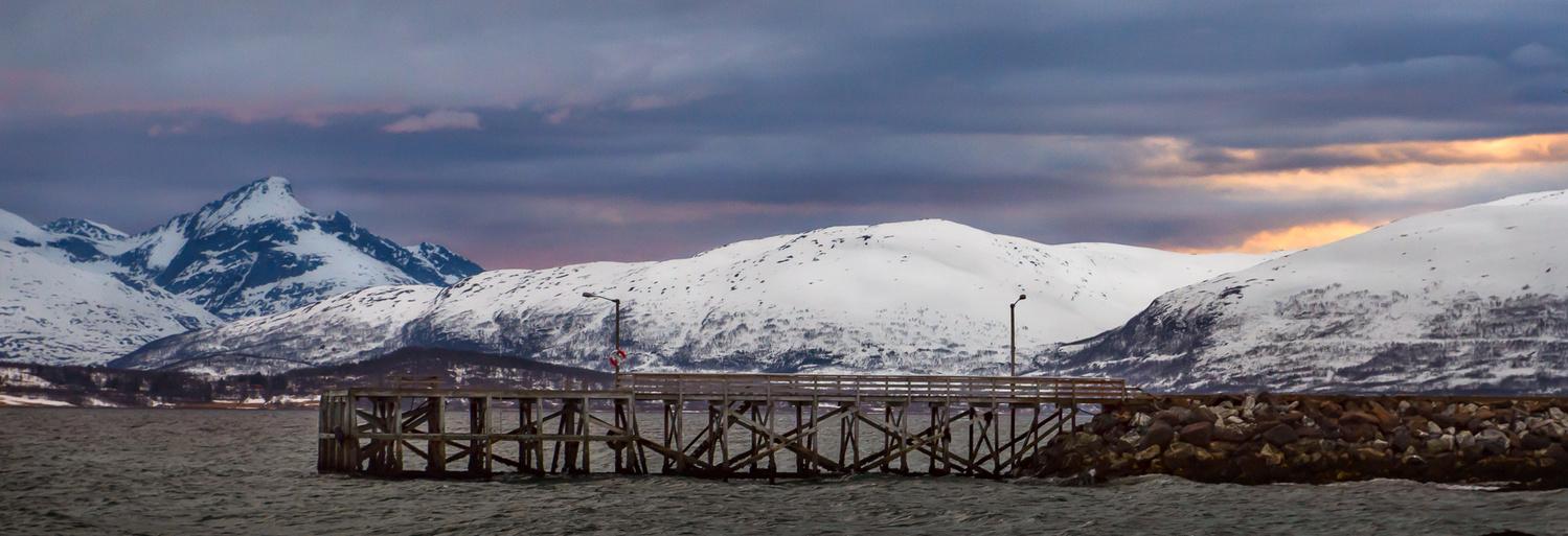 Norwegian Pier by Jo Collier