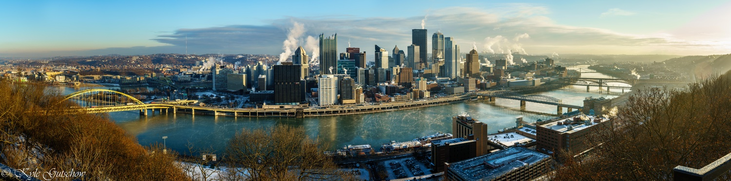 Morning in Pittsburgh by Kyle Gutschow