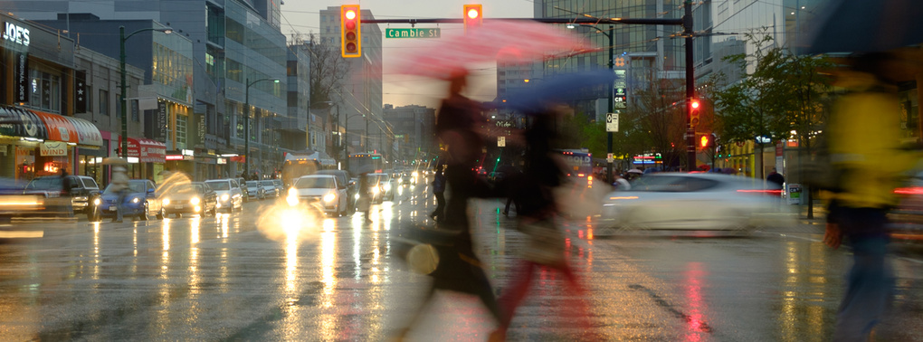 Vancouver Wet by Maurice Woodworth