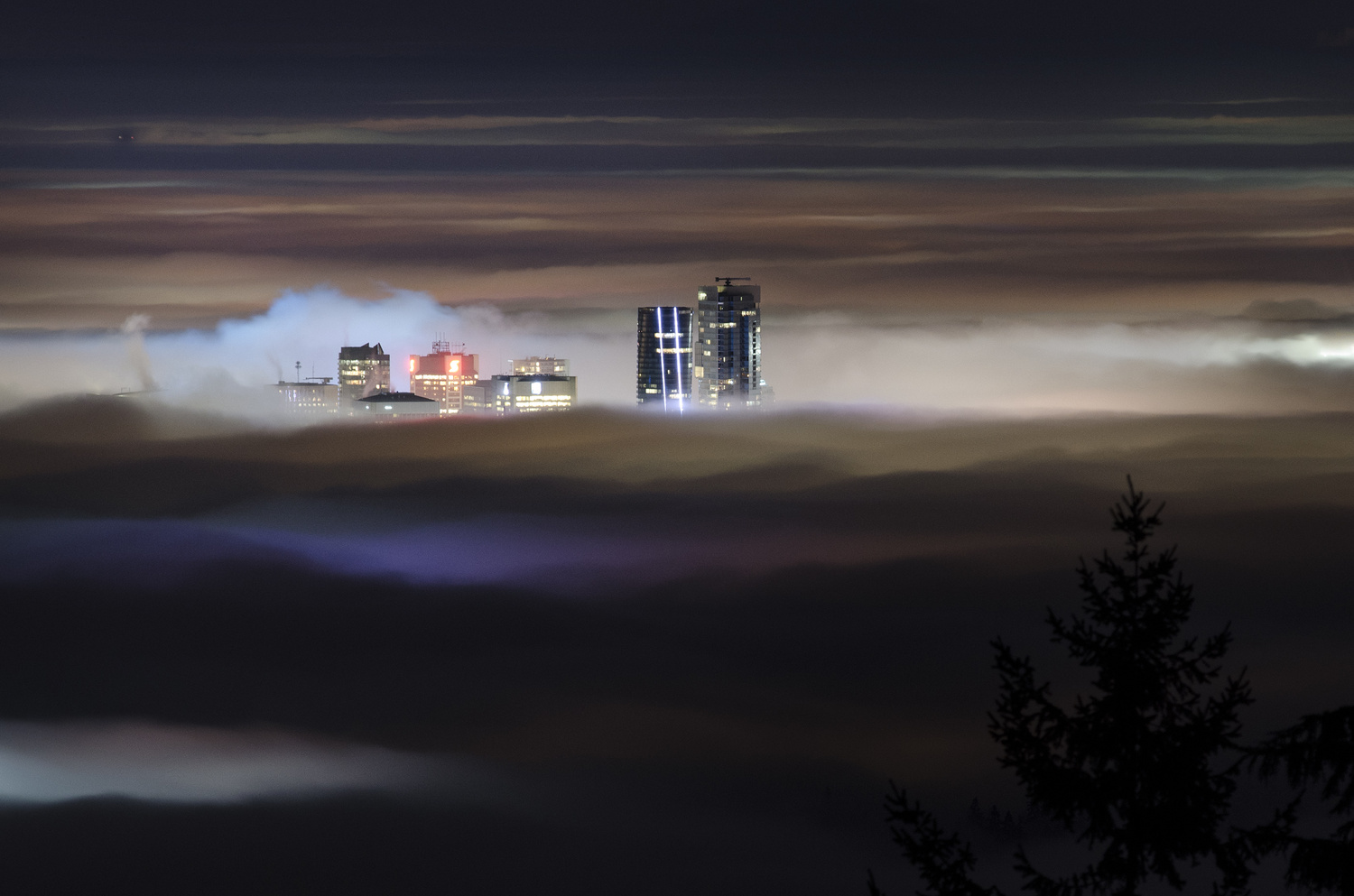 The City and The Fog by Ken Stewart