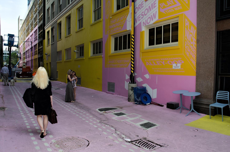 Downtown Alley by Ken Stewart