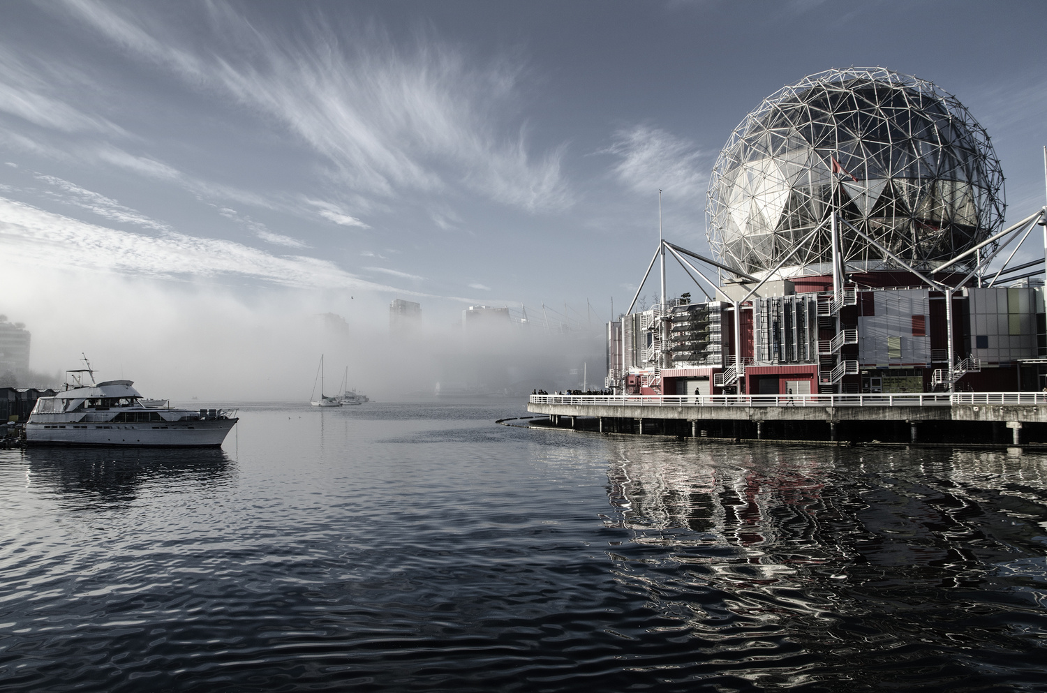 Vancouver Science World and False Creek by Ken Stewart