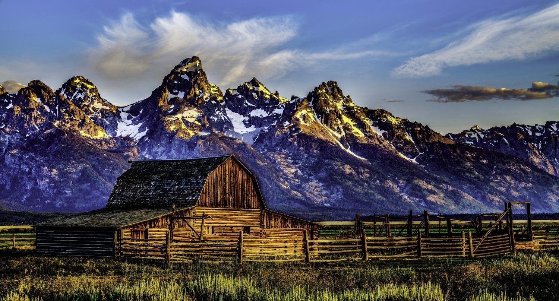 T.A Moulton Barn by Michael Giacobbe
