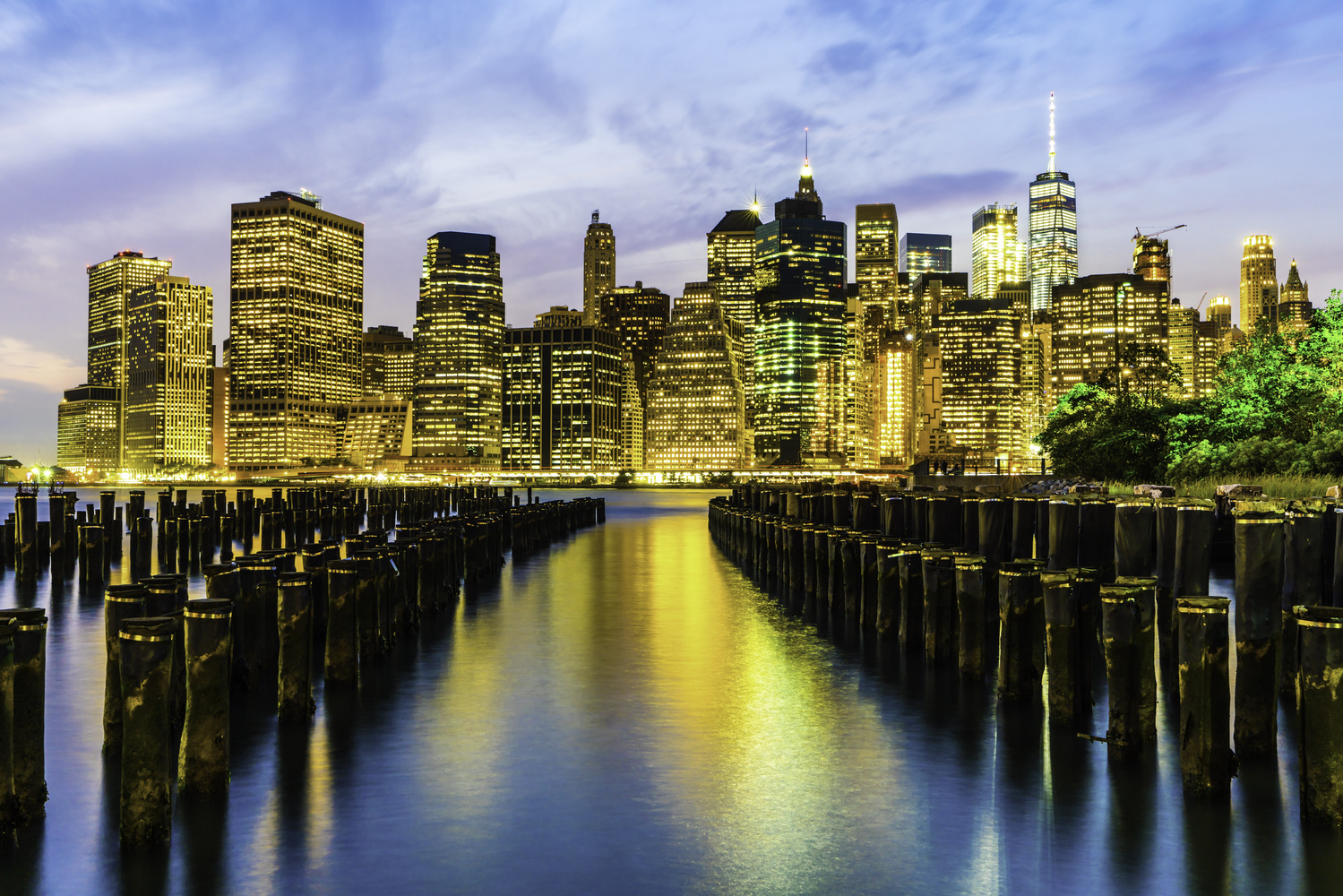 Piering over the East River by Michael Giacobbe