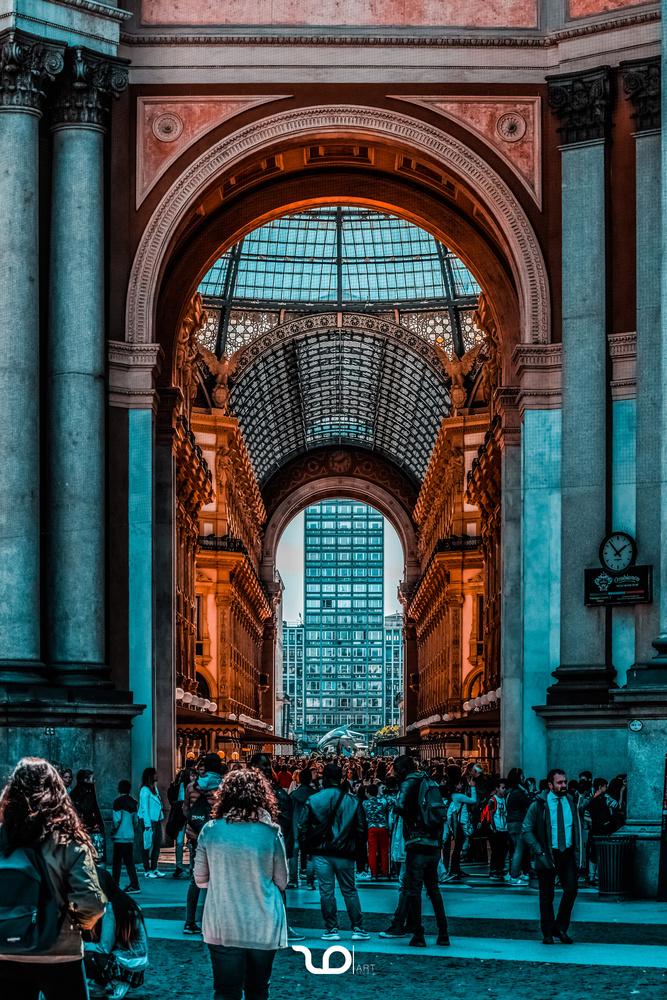 Galleria Vittorio Emanuele II by Dušan Zonji