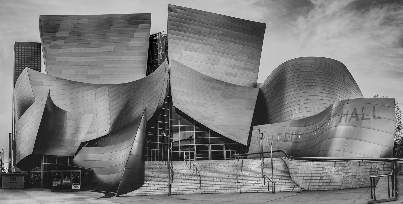Walt Disney Concert Hall by Allen Ng