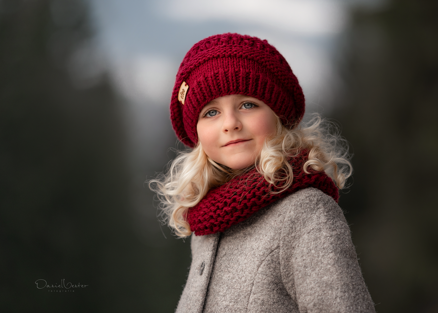 Winter Portrait by Daniel Venter