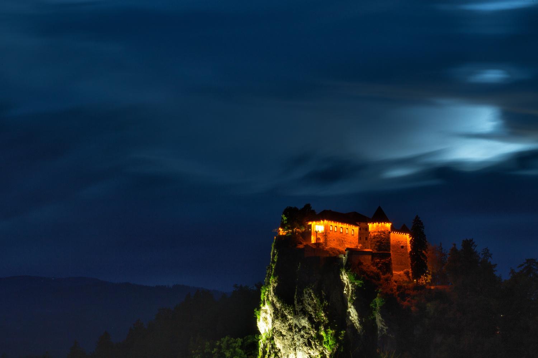 Bled Castle by Daniel O'Shea