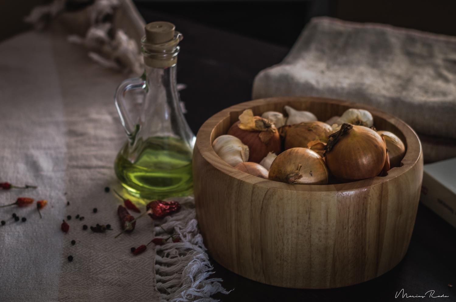 Preparing ingredients by Marius Radu