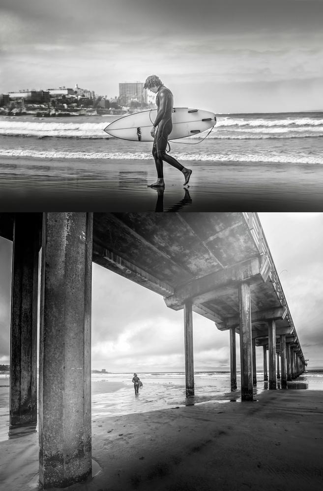 Scripps Pier LaJolla, CA by Zachary Bolena